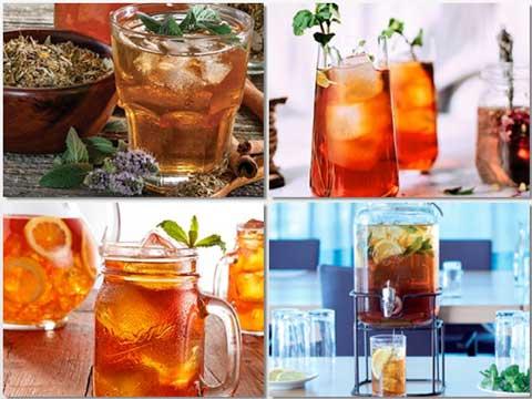 Cócteles saludables hechos con té Lipton