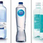 Elegantes, prácticas, solidarias… tres aguas minerales para hostelería