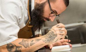 Chef participante en el concurso Copa Jerez