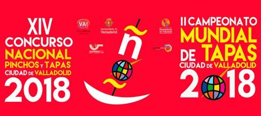 Cartel Concurso Pinchos y Tapas Valladolid 2018