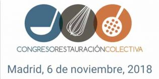 El Congreso de Restauración Colectiva 2018 se celebra en Madrid el 6 de noviembre