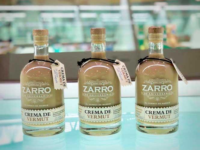 Crema de vermut Zarro