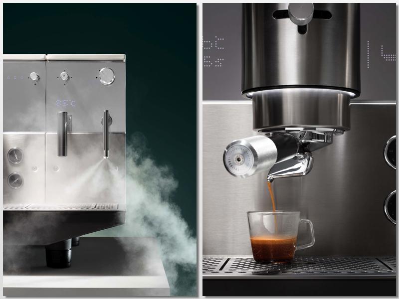 Detalles de la máquina de café Vision de Iberital