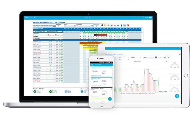 Software GirNet en diferentes dispositivos