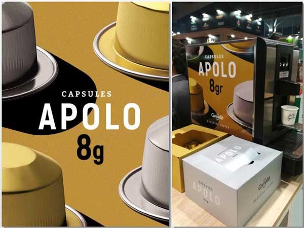 Proefsional horeca -  cápsulas de café Apolo