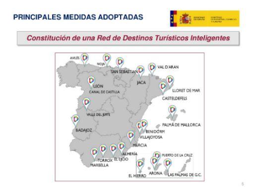 profesionalhoreca Red de Destinos Turísticos Inteligentes en España
