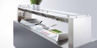 Lo último en buffets: estación de front cooking o cocina móvil