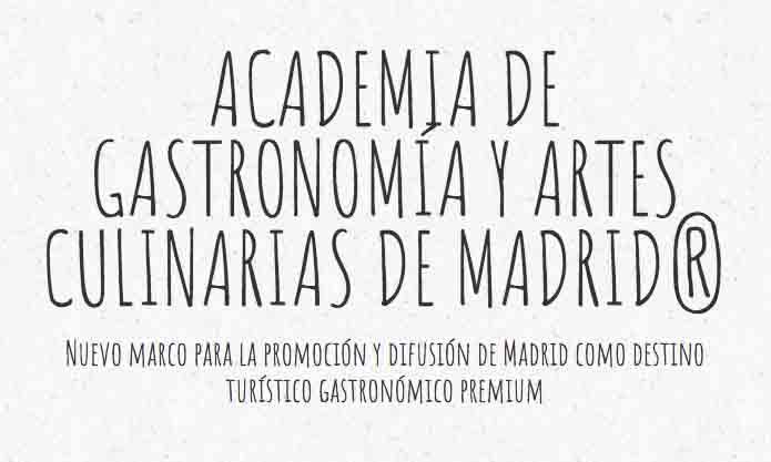 Logo de la Academia de Gastronomía y Artes Culinarias de Madrid - Profesional Horeca