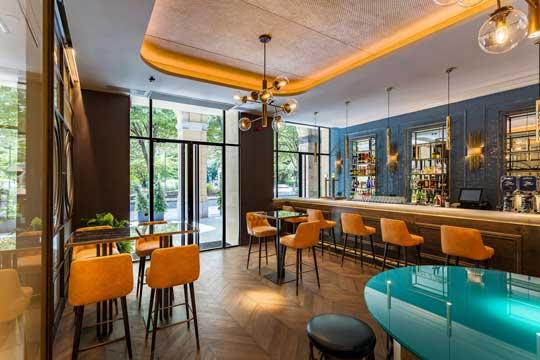 El bar del hotel Room Mate Gorka