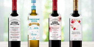 Una idea para sorprender a tus clientes: botellas de vino personalizadas