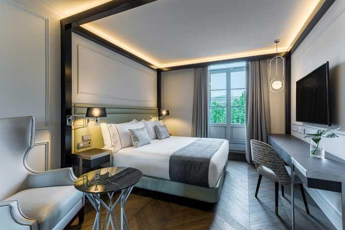 Habitación del hotel Room Mate Gorka