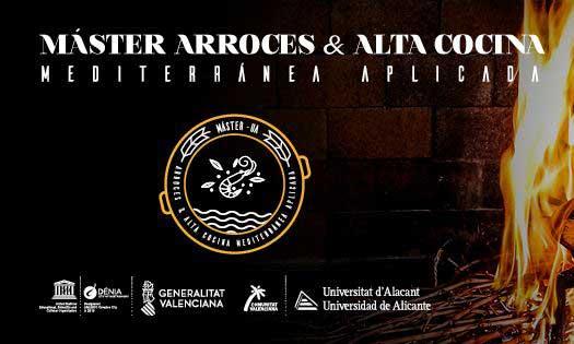 Logo del Máster Arroces y Alta Gastronomía Mediterránea