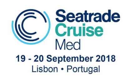 Logo de la feria Seatrade Cruise med