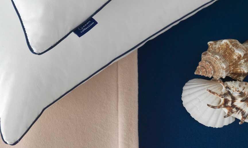 Vayoil manta y funda de almohada con plástico reciclado - Profesionalhoreca