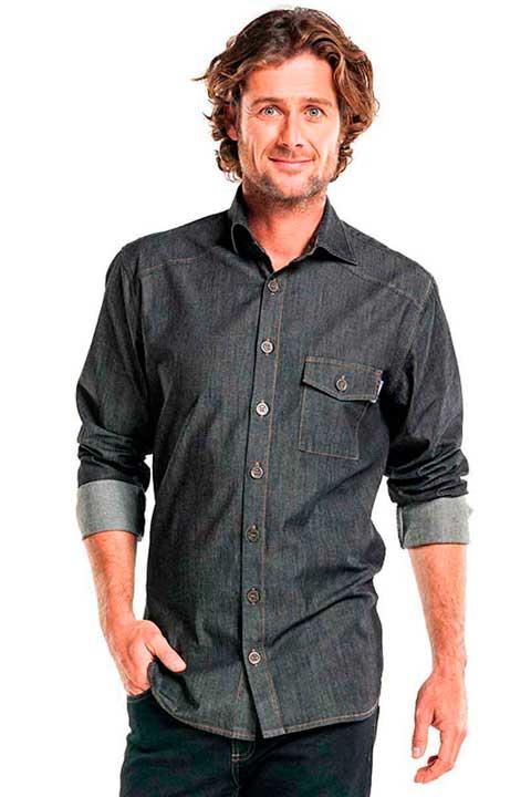 Camisa vaquera de camarero, de Mas Uniformes