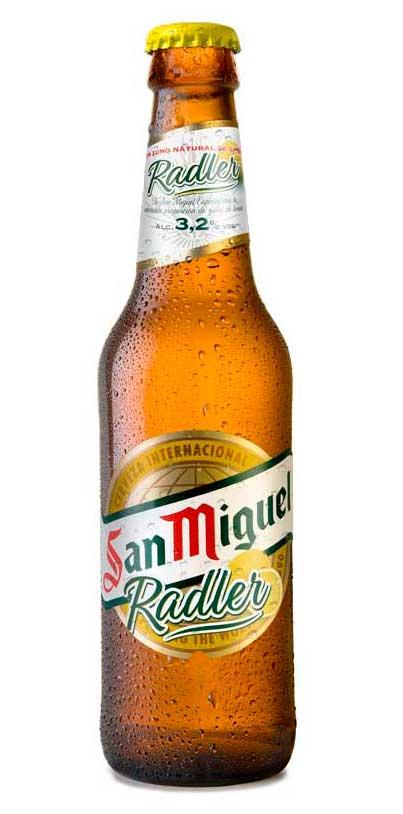 Cerveza San Miguel Radler - Profesional Horeca