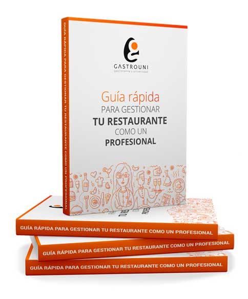 ebook de Gastrouni sobre cómo gestionar un restaurante
