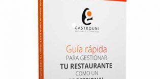 Ebook gratuito de Gastrouni sobre cómo gestionar un restaurante de forma profesional