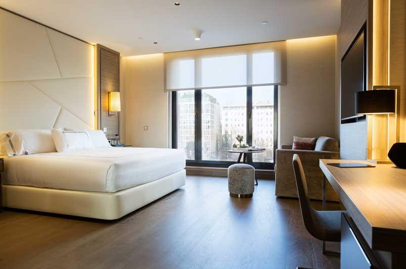 Habitación del hotel VP Plaza España