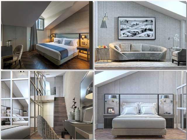 Habitaciones duplex del hotel Room Mate Gorka