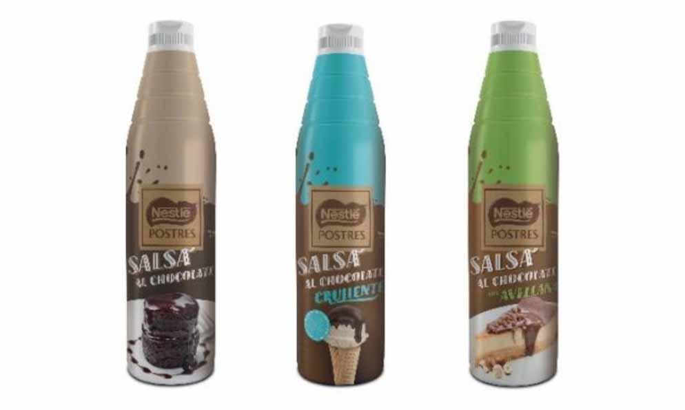 Salsas de chocolate de Nestlé Professional
