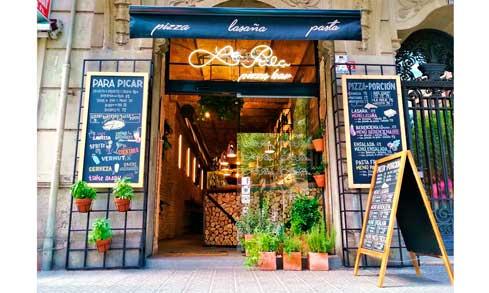 Fachada exterior del nuevo local de La Pala en la Avenida del Paralelo, en Barcelona