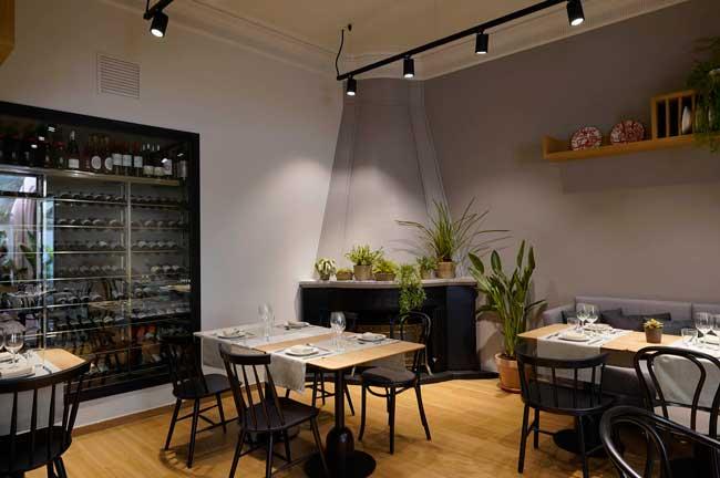 Una de las salas del restaurante Viu