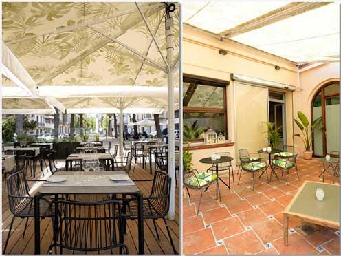 Terrazas del restaurante Viu