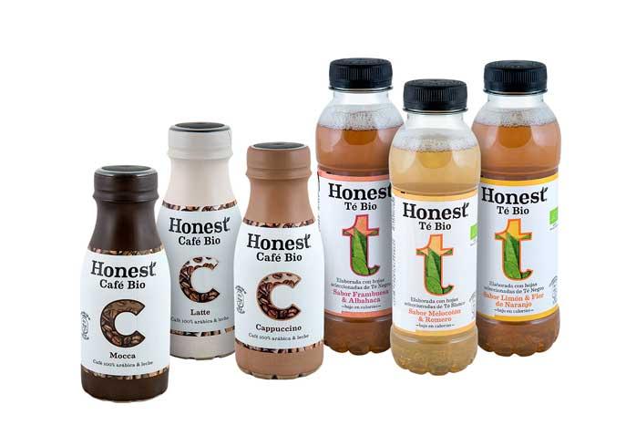 Tés y cafés ecológicos Honest, de Coca Cola. Profesional Horeca