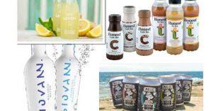 Cuatro nuevas bebidas refrescantes para un consumidor más consciente