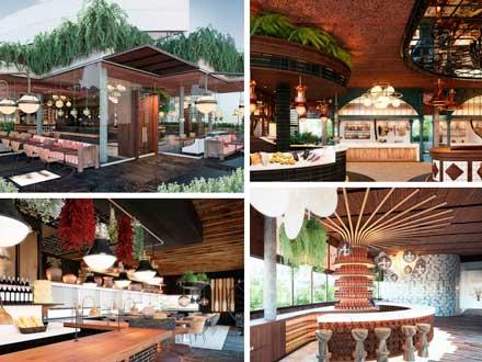 Recreación de los espacios del mercado gastronómico de Boanerges - Profesional Horeca