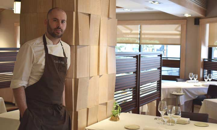 Arnau Bosch, en su restaurante Can Bosch - Profsional Horeca