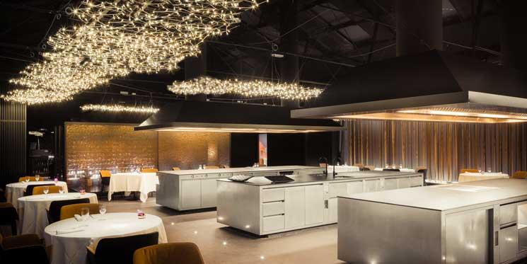 Sala central de Cocina Hermanos Torres - Profesional Horeca