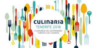 Culinaria Tenerife 2018, II Congreso de Gastronomía Turística de Canarias