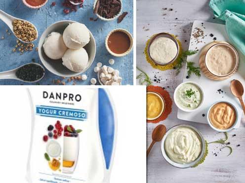 Recetas elaboradas con yogur Danpro de Danone
