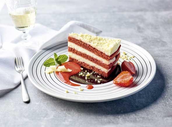 Tarta Red Velvet, Casual Cake de Erlenbacher - profesional horeca