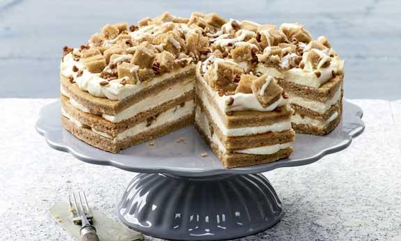 Tarta de Caramelo y Zanahoria, Casual Cake de Erlenbacher - profesional horeca