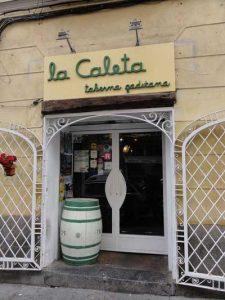 Fachada de La Caleta Gaditana, en Madrid - profesionalHoreca