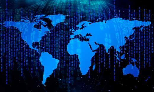 Mapa del mundo -big data - ProfesionalHoreca