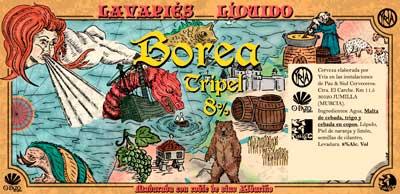 Etiqueta de cerveza Borea - Profesional Horeca