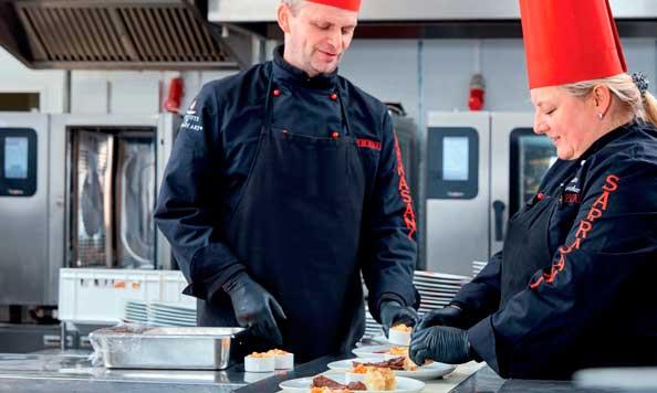 Chefs En el restaurante del teatro Sarrasani, en Dresde
