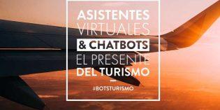 """Jornada """"Asistentes virtuales & chatbots, el presente del turismo"""""""