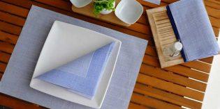 Nueva gama Bio de La Pajarita: manteles y servilletas compostables y biodegradables