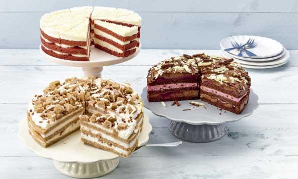 Los tres nuevos Casual Cakes de Erlenbacher - profesional horeca