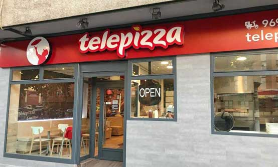 Local de Telepizza en Cuenca - Profesional Horeca