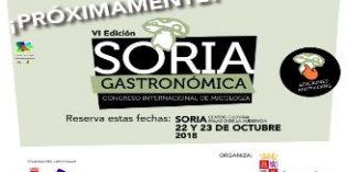 Congreso Internacional de Micología, Soria Gastronómica, el 22 y 23 de octubre