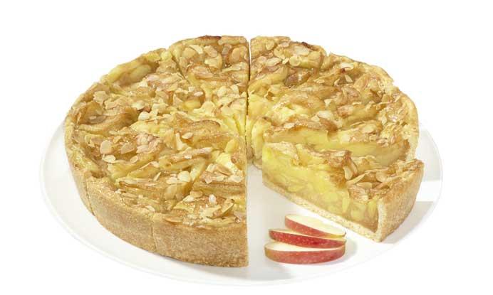 Tarta de Manzana vegana - erlenbacher - profesionalhoreca