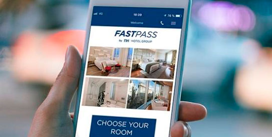 NH - Fastpass - choose your roon - profesionalhoreca