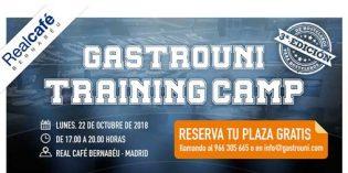 III Gastrouni Training Camp: jornada gratuita para profesionales de la hostelería, en Madrid
