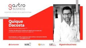 Quique Dacosta - IV jornadas Gastro Business - Profesional Horeca